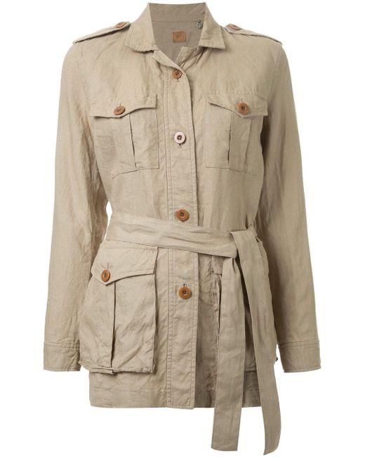 Safari Jacket Fabiane Roux                                                                                                              коричневый цвет