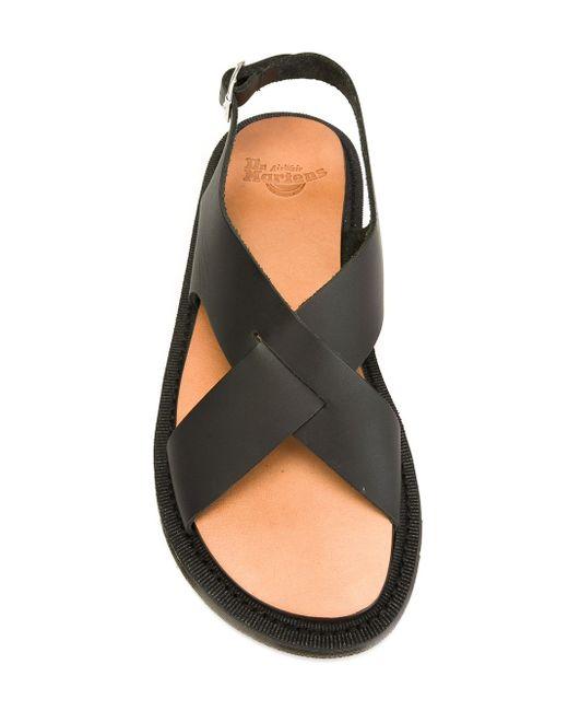 Abella Sandals Dr. Martens                                                                                                              чёрный цвет