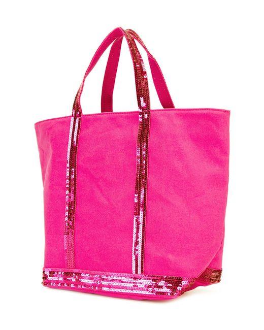 Сумка-Тоут С Пайетками Vanessa Bruno                                                                                                              розовый цвет