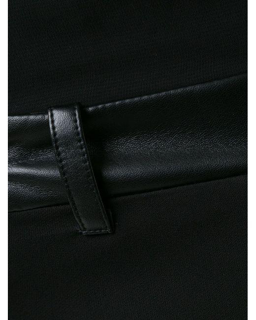 Sheer Playsuit Philipp Plein                                                                                                              чёрный цвет