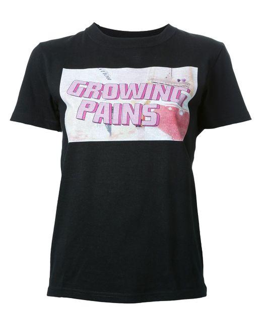 Logo Print T-Shirt Growing Pains                                                                                                              чёрный цвет