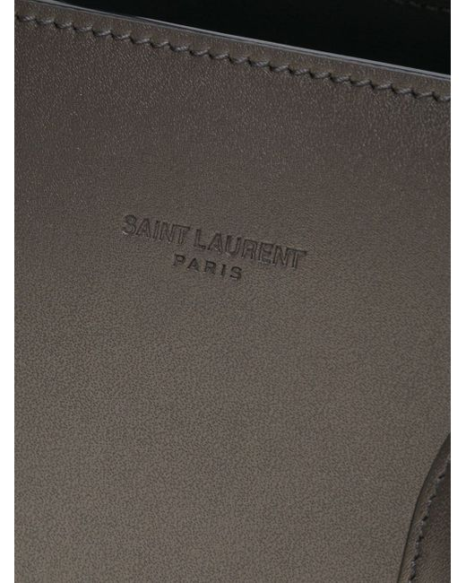 Маленькая Сумка-Тоут Sac De Jour Saint Laurent                                                                                                              серый цвет