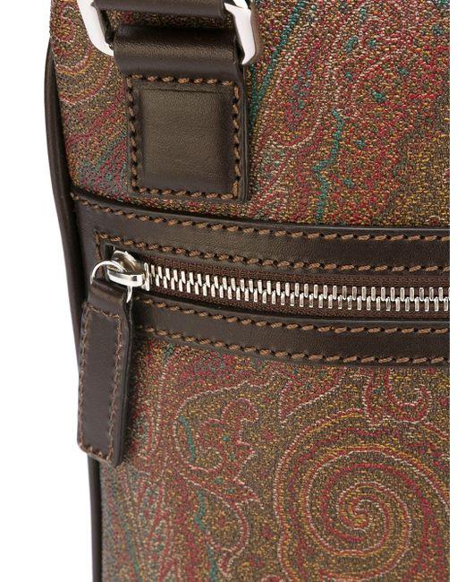 Сумка-Почтальонка С Принтом Пейсли Etro                                                                                                              многоцветный цвет