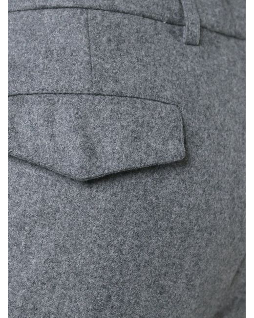 Брюки На Шнурке Brunello Cucinelli                                                                                                              серый цвет