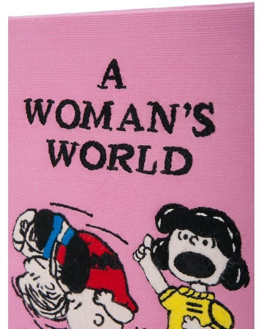 A Womans World Clutch Olympia Le-Tan                                                                                                              розовый цвет