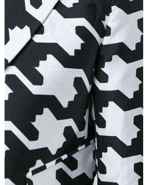 Digital Houndstooth Jacket Dsquared2                                                                                                              белый цвет
