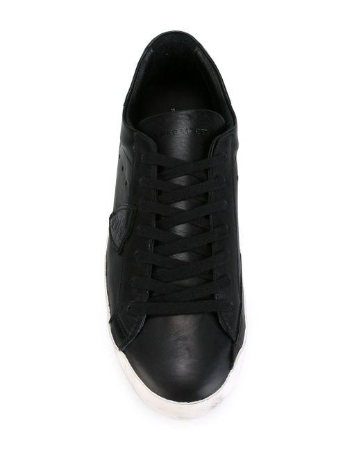 Классические Кеды Philippe Model                                                                                                              чёрный цвет