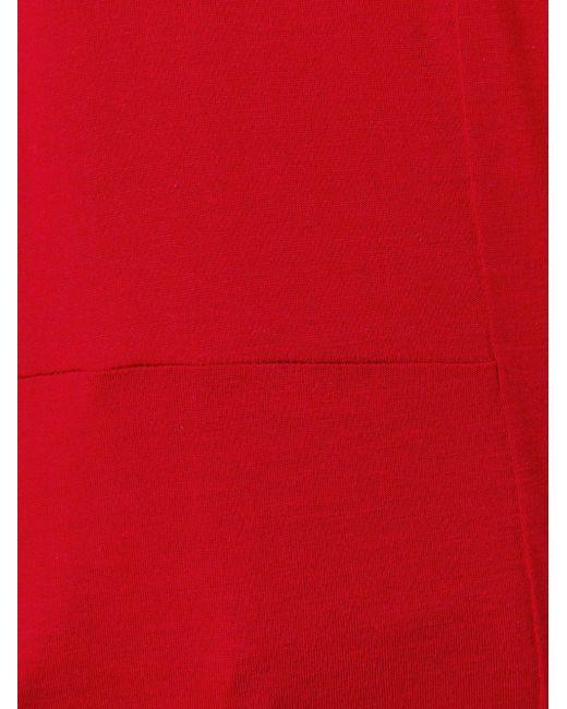 Классическая Футболка MM6 by Maison Margiela                                                                                                              красный цвет