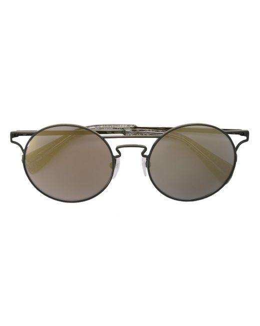Солнцезащитные Очки С Вырезными Деталями Yohji Yamamoto                                                                                                              чёрный цвет