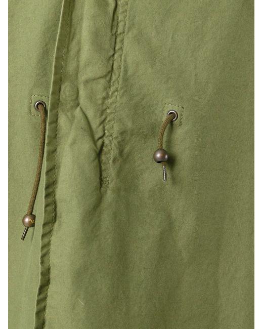 Oversized Hood Parka MR & MRS Italy                                                                                                              зелёный цвет