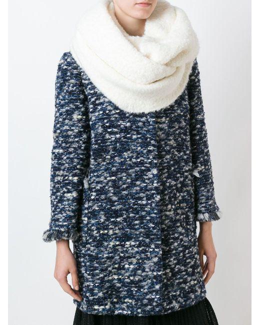 Шарф-Снуд Blugirl                                                                                                              белый цвет