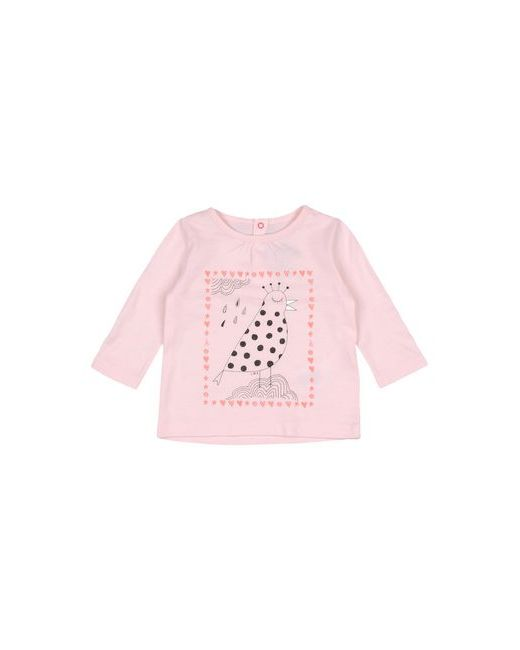Футболка Little Marc Jacobs                                                                                                              розовый цвет