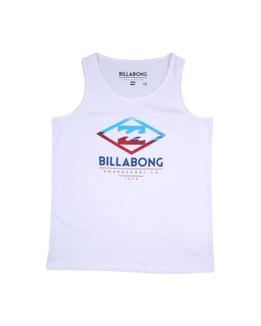 Футболка Billabong                                                                                                              белый цвет