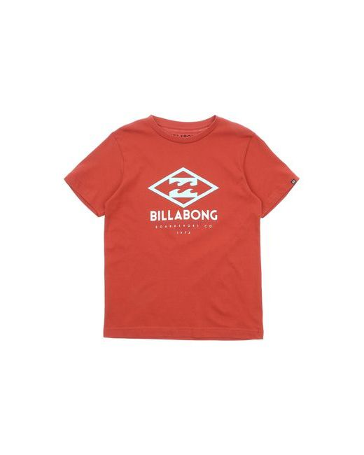 Футболка Billabong                                                                                                              красный цвет