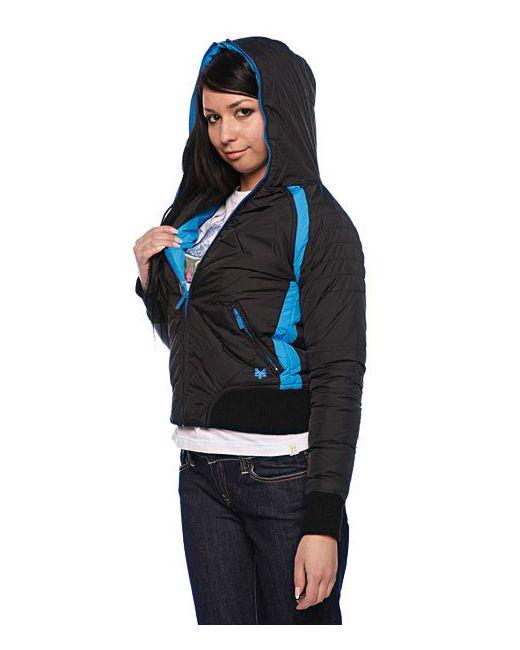 Куртка Женская Nylon Duvet Coat Black Zoo York                                                                                                              чёрный цвет