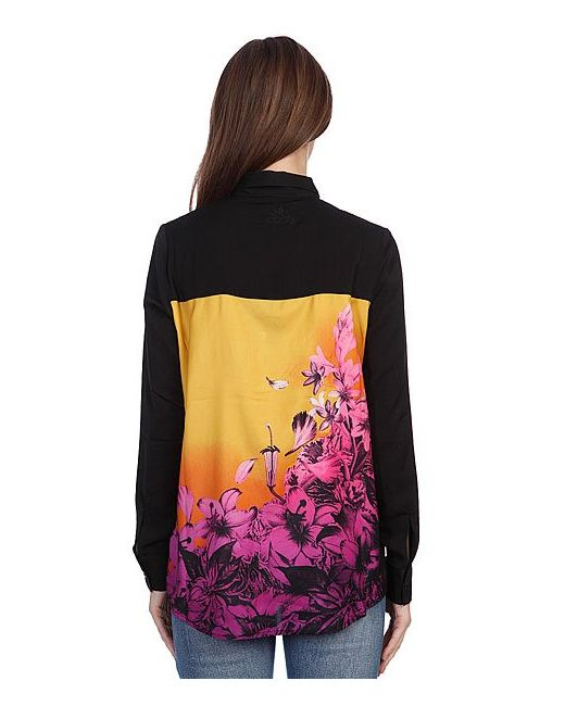 Рубашка Женская Afterglow Shirt Saffron Insight                                                                                                              желтый цвет