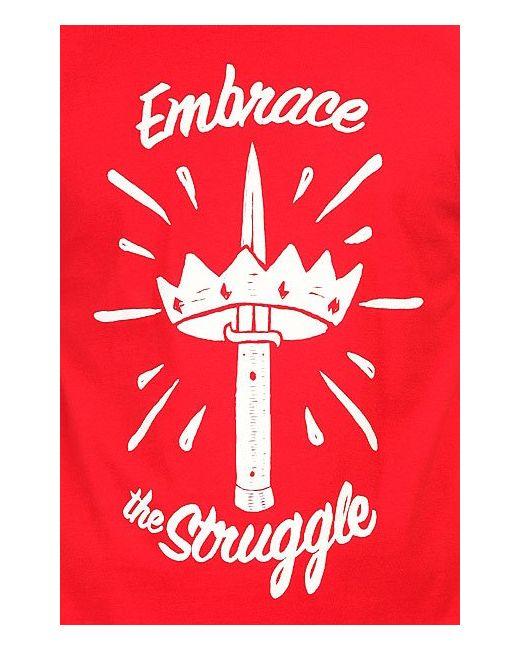 Футболка The Struggle Blood Red/White Fallen                                                                                                              красный цвет
