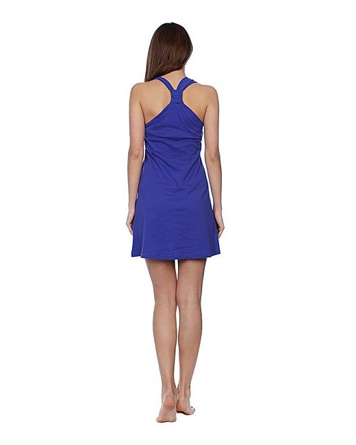 Платье Женское Beach Brights Dress Violet Blue Roxy                                                                                                              None цвет
