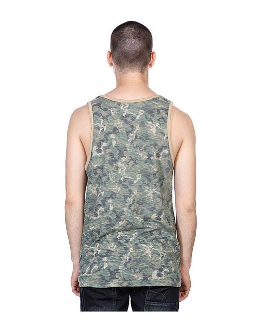 Майка Tank Top Olive Camouflage LRG                                                                                                              None цвет