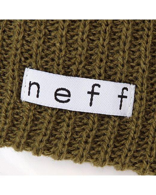 Шапка Daily Fatigue Neff                                                                                                              зелёный цвет