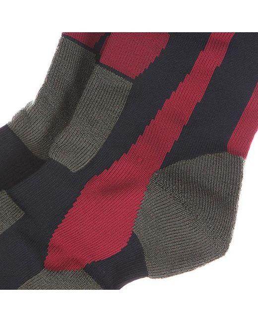 Носки Comp Socks Winter Moss Quiksilver                                                                                                              чёрный цвет