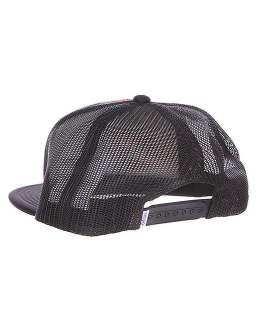 Бейсболка Bonsai Trucker Hat Black Etnies                                                                                                              None цвет