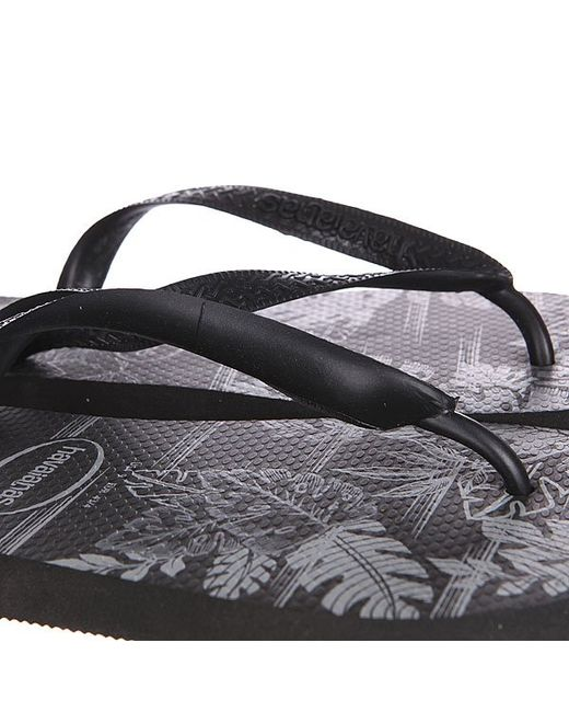 Вьетнамки Eles Top Mix Black Havaianas                                                                                                              чёрный цвет