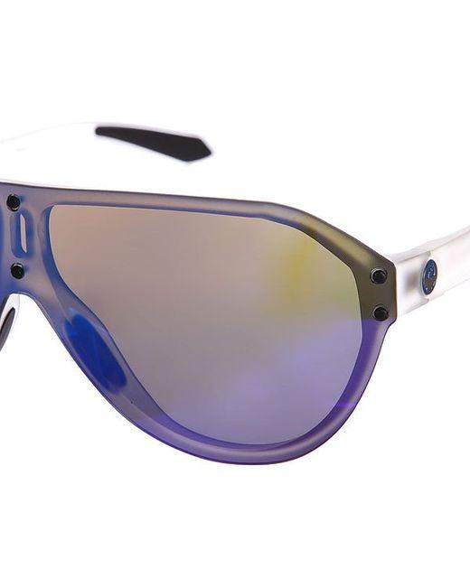 Очки Ds1 Ion Large Matte Clear/Blue Dragon                                                                                                              синий цвет