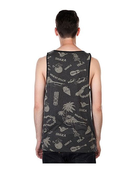 Майка Lei Day Singlet Phantom Billabong                                                                                                              серый цвет