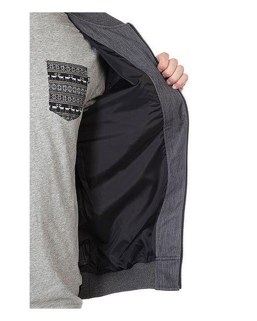 Куртка Team Jacket Black Heather Nixon                                                                                                              None цвет