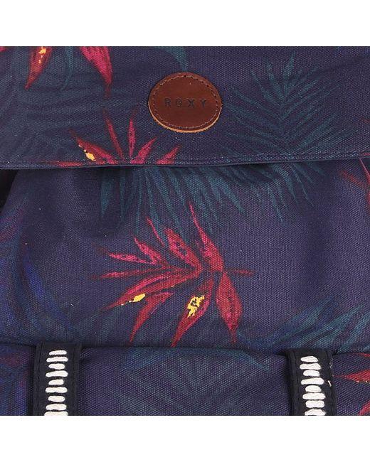 Рюкзак Женский Rambling 20l Peacoat Roxy                                                                                                              синий цвет