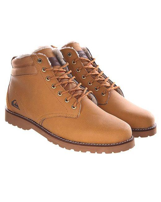 Ботинки Зимние Mission Boot Tan Solid Quiksilver                                                                                                              коричневый цвет