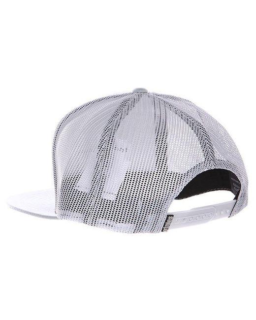 Бейсболка Kehj Trucker Hat Grey Etnies                                                                                                              серый цвет