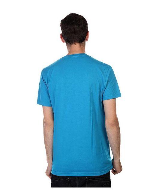 Футболка Lam Core Trq Lost                                                                                                              голубой цвет