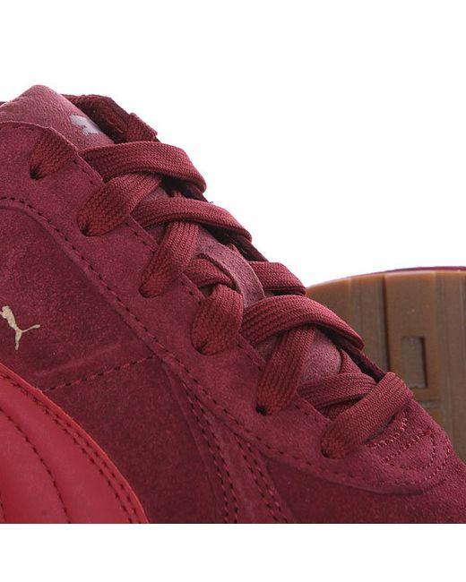 Кроссовки St Runner Sd Cabernet Puma                                                                                                              красный цвет