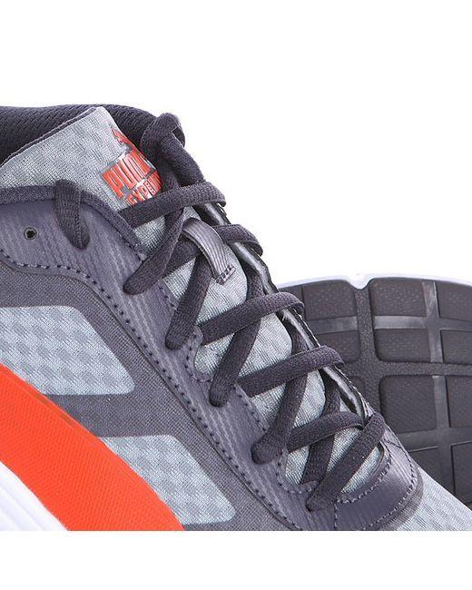 Кроссовки Expedite Quarry/Periscope/Orange Puma                                                                                                              серый цвет