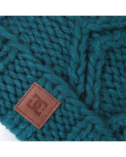 Шапка С Помпоном Женская Dc Tayce Aruba Dcshoes                                                                                                              зелёный цвет