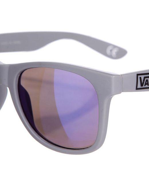 Очки Spicoli 4 Shades Matte Grey/Blue Vans                                                                                                              серый цвет