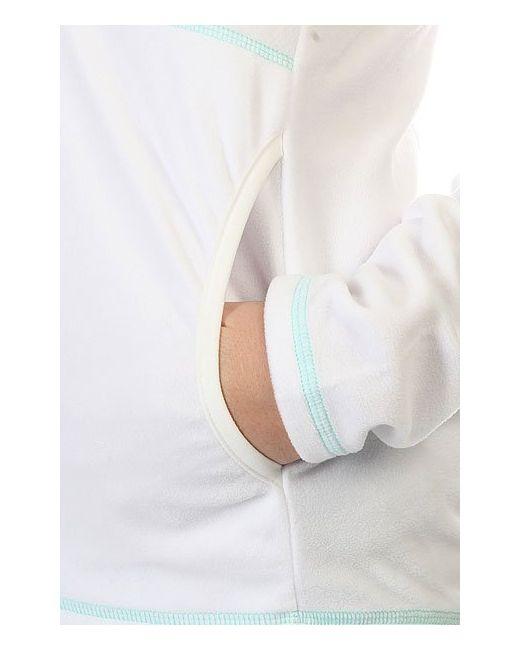 Толстовка Кенгуру Женская Cascade Bright White Roxy                                                                                                              белый цвет