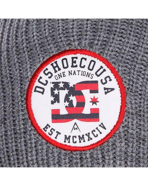 Шапка Dc Ringster M Heather Grey Dcshoes                                                                                                              серый цвет