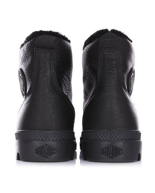 Ботинки Зимние Pampa Hi L Gusset S Palladium                                                                                                              чёрный цвет