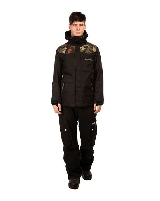 Куртка 180 Switch Classic Jacket Black Camo Romp                                                                                                              чёрный цвет