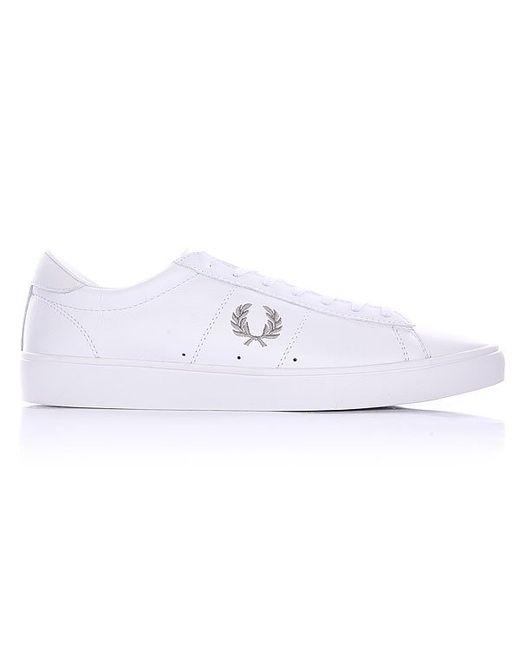Кеды Кроссовки Низкие Spencer Optic Leather White Fred Perry                                                                                                              белый цвет