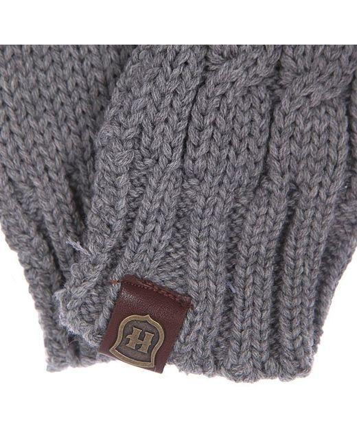 Варежки Annabel Grey Harrison                                                                                                              серый цвет