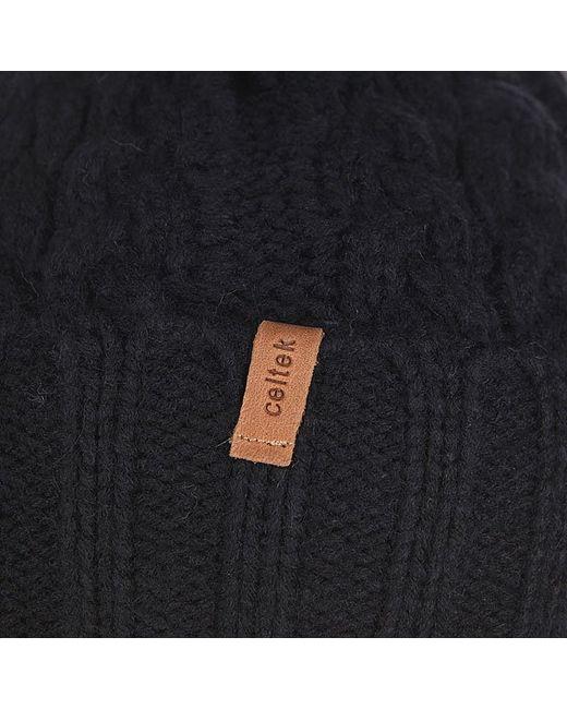 Шапка Женская Sienna Beanie Black Celtek                                                                                                              чёрный цвет