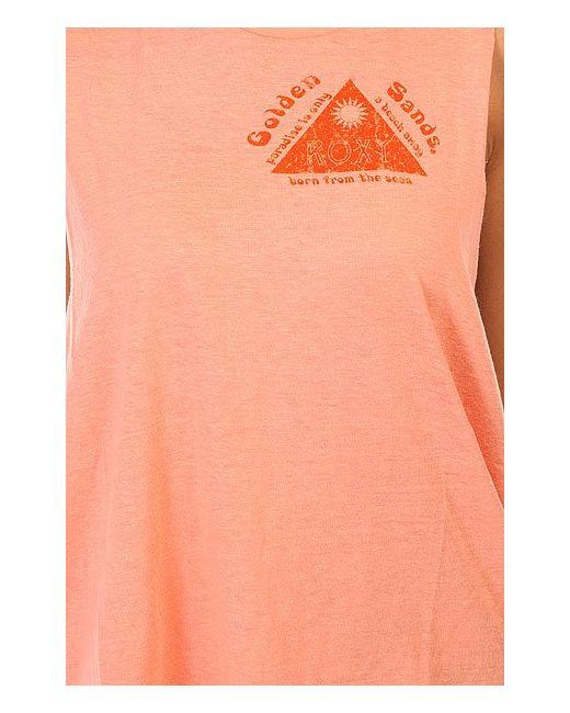Майка Женская Musclegoldens J Tees Desert Flower Roxy                                                                                                              розовый цвет