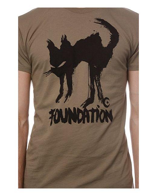 Футболка F-Ink Cat Light Olive Foundation                                                                                                              бежевый цвет