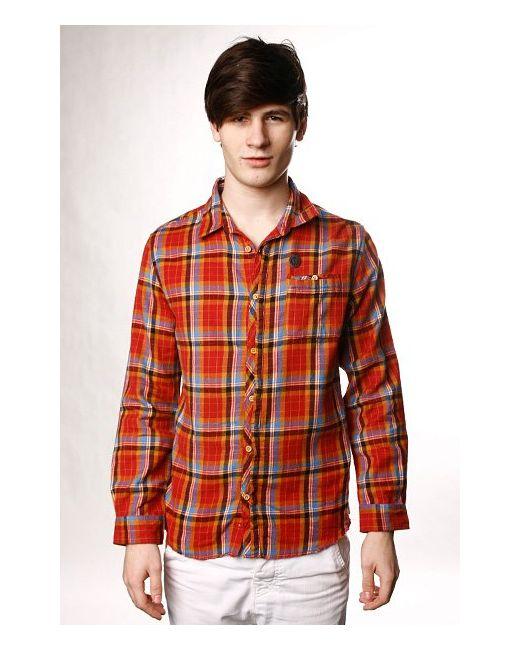 Рубашка Superve Oxbl Red Insight                                                                                                              красный цвет