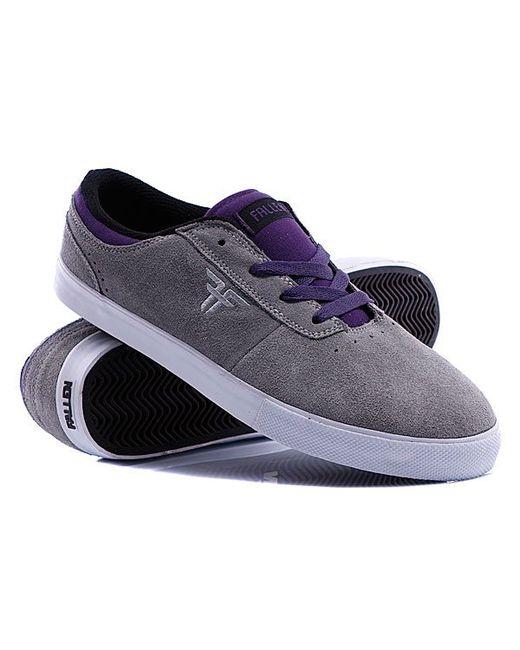 Кеды Кроссовки Vice Grey/Purple Fallen                                                                                                              серый цвет