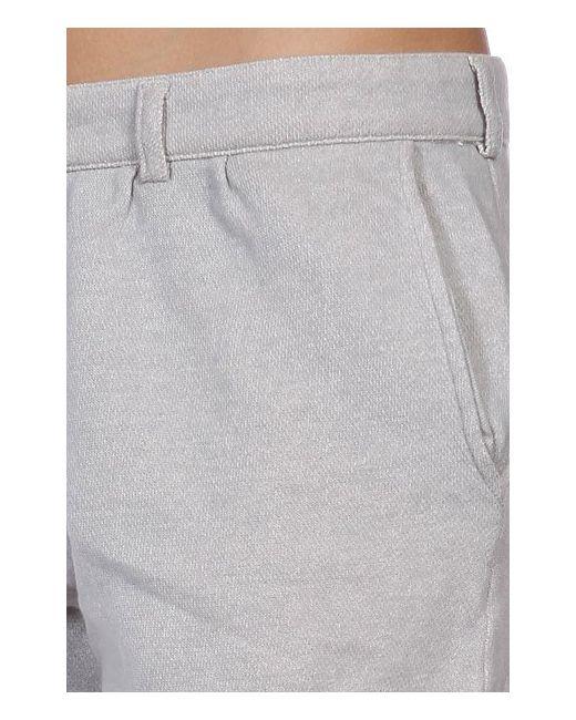 Шорты Классические Женские Loopback Short Grey Fred Perry                                                                                                              серый цвет